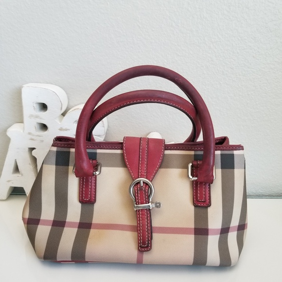 0d43da25b59 Burberry Handbags - Authentic Burberry Nova Check Eden Satchel